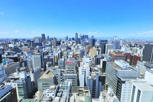 テレビ塔より名古屋駅方向の町並みの写真素材 [FYI04865420]