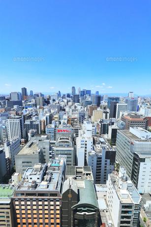 テレビ塔より名古屋駅方向の町並みの写真素材 [FYI04865423]