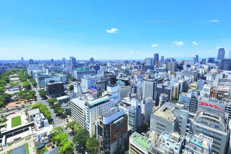 名古屋市 テレビ塔より南西方向の町並みの写真素材 [FYI04865438]