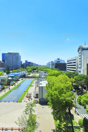 名古屋市 久屋大通公園(100メートル道路)の写真素材 [FYI04865442]