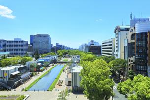 名古屋市 久屋大通公園(100メートル道路)の写真素材 [FYI04865447]