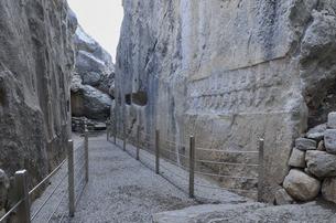 ヤズルカヤ遺跡の小ギャラリーの写真素材 [FYI04865795]