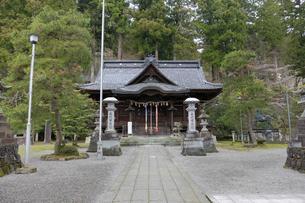 岡太神社拝殿の写真素材 [FYI04865936]