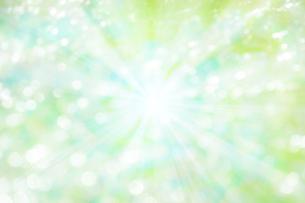 ボケた緑の背景イメージの写真素材 [FYI04865994]