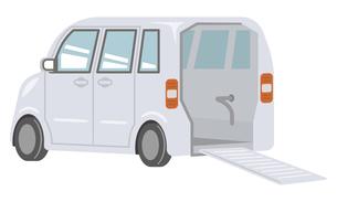福祉車両のイラストレーションのイラスト素材 [FYI04866487]
