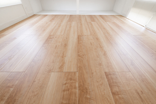 フローリングの床の写真素材 [FYI04866686]