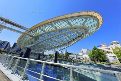 名古屋市 オアシス21・水の宇宙船の写真素材 [FYI04866863]