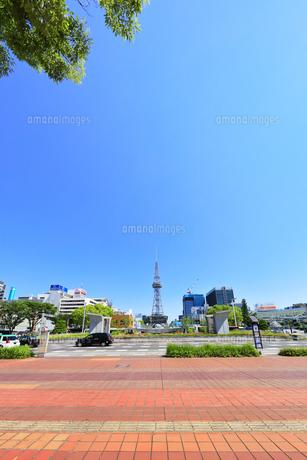 名古屋市 久屋大通公園(100メートル道路)の写真素材 [FYI04866871]