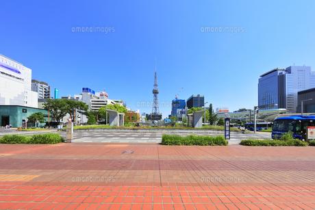 名古屋市 久屋大通公園(100メートル道路)の写真素材 [FYI04866872]