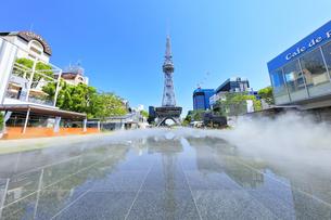 名古屋市 久屋大通公園(100メートル道路)の写真素材 [FYI04866876]