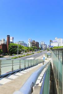 名古屋市 錦通に久屋大通(100メートル道路)の写真素材 [FYI04866881]