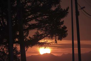 日の出の風景の写真素材 [FYI04867195]