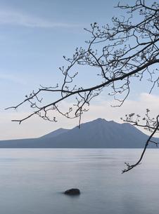 支笏湖の写真素材 [FYI04867202]