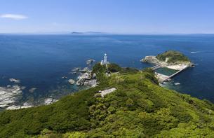 佐田岬灯台(愛媛県伊方町)の写真素材 [FYI04867492]