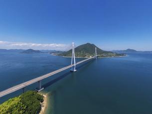 多々羅大橋(しまなみ海道)の写真素材 [FYI04867540]