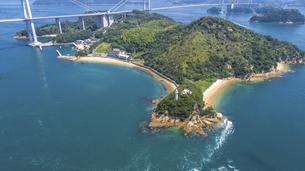 馬島と来島海峡(しまなみ海道)の写真素材 [FYI04867596]