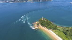 来島海峡の渦潮(うずしお) しまなみ海道の写真素材 [FYI04867602]