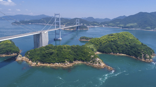 来島海峡(しまなみ海道)の写真素材 [FYI04867624]