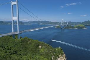 来島海峡(しまなみ海道)の写真素材 [FYI04867629]