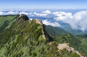 石鎚山(愛媛県)の写真素材 [FYI04867702]