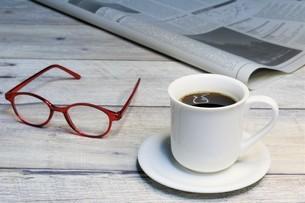 モーニングコーヒーの写真素材 [FYI04868082]