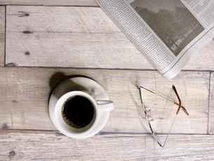 モーニングコーヒーの写真素材 [FYI04868088]
