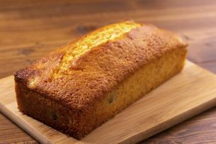 金時豆のパウンドケーキの写真素材 [FYI04868503]