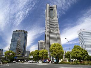 横浜みなとみらい地区 神奈川県の写真素材 [FYI04869417]