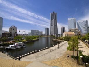 横浜みなとみらい地区 神奈川県の写真素材 [FYI04869422]