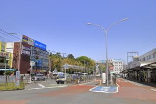 あざみ野駅前 田園都市線の写真素材 [FYI04869765]