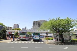 鷺沼駅中央口前 田園都市線の写真素材 [FYI04869789]