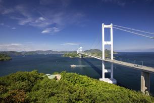 来島海峡大橋(しまなみ海道)の写真素材 [FYI04870149]