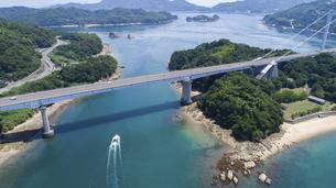 伯方・大島大橋(しまなみ海道)の写真素材 [FYI04870380]