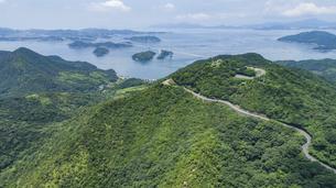 亀老山(愛媛県今治市大島/しまなみ海道)の写真素材 [FYI04870405]