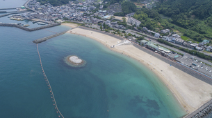 ふたみシーサイド公園(愛媛県伊予市双海町)の写真素材 [FYI04870433]
