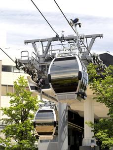 横浜みなとみらい地区のロープウェイ 神奈川県の写真素材 [FYI04870999]