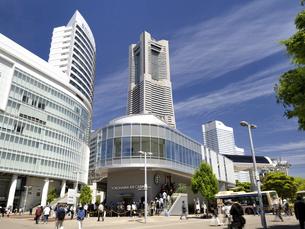 桜木町駅前広場 神奈川県横浜市の写真素材 [FYI04871009]