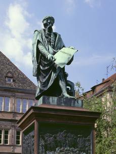 グーテンベルク像の写真素材 [FYI04871216]