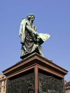 グーテンベルク像の写真素材 [FYI04871217]