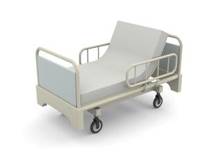 介護用ベッドのイラスト素材 [FYI04871263]