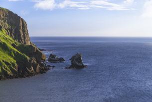 礼文島の奇岩「猫岩」の写真素材 [FYI04871318]