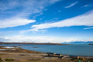 パタゴニア・カラファテ町のアルゼンチン湖の写真素材 [FYI04871393]