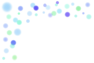 パステルカラーの水玉模様のイラスト素材 [FYI04871585]