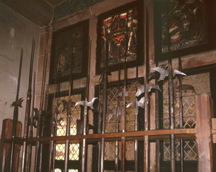 オーケニングスブール城_武器の部屋の写真素材 [FYI04871794]