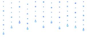 雨や水滴の滴っているイラストのイラスト素材 [FYI04872090]