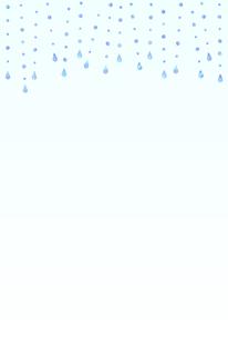 雨が降っているイラスト【縦のデザイン】のイラスト素材 [FYI04872094]
