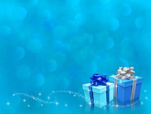 Present Boxes blueのイラスト素材 [FYI04872102]