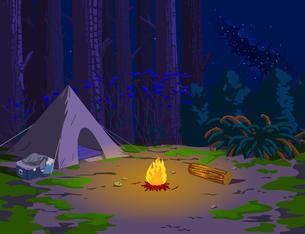 Campfireのイラスト素材 [FYI04872105]