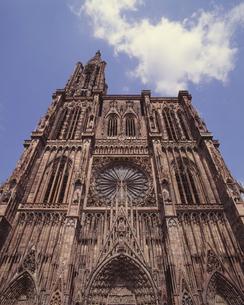 ストラスブール大聖堂の写真素材 [FYI04873273]