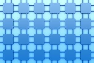 線で繋がる正方形の模様 CGのイラスト素材 [FYI04873275]